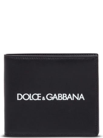 Dolce & Gabbana Leather Wallet With Logo