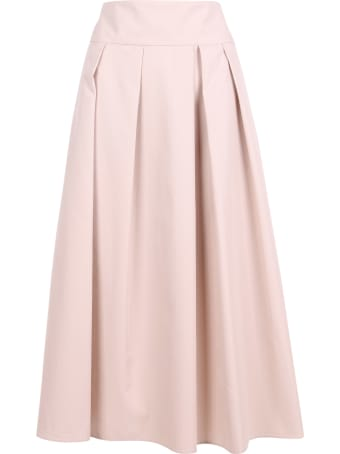 'S Max Mara 'ardenza' Cotton Skirt