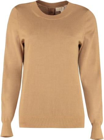 MICHAEL Michael Kors Wool Blend Crew-neck Pullover