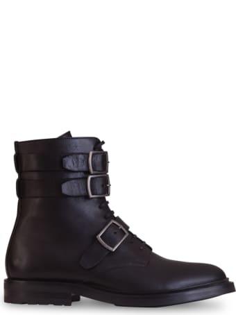 Saint Laurent Army Ankle Boots