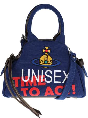 Vivienne Westwood Slogan Small Yasmine Bag