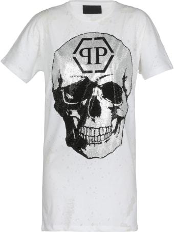 Philipp Plein Dress With Skull