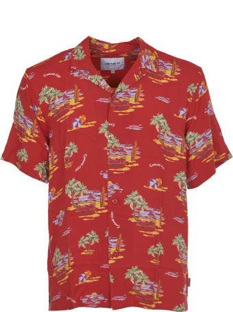 Carhartt Red Hawaiian Shirt