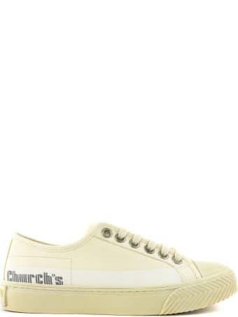 Church's Cream Cotton Southbank Sneakers