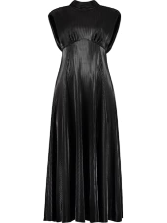 MSGM Pleated Long Dress