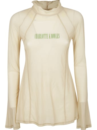 Charlotte Knowles Truss Long-sleeved Top