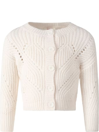 Catimini Ivory Cardiagn For Girl