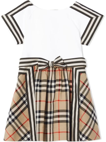 Burberry Vintage Check Bow Dress