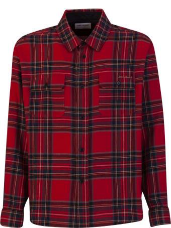 Saint Laurent Tartan Shirt