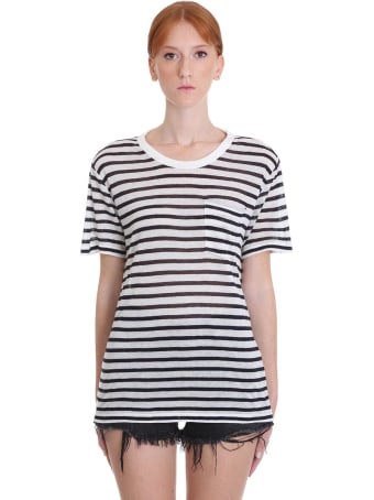 T by Alexander Wang Classic Stripe Pocket Tee