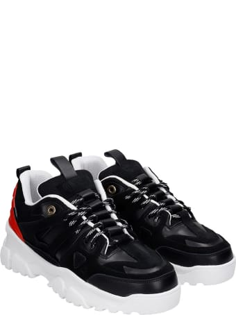 Mason Garments Genova  Sneakers In Black Leather