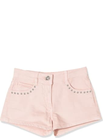 Douuod Pink Cotton Shorts
