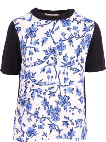 Tory Burch Silk T-shirt