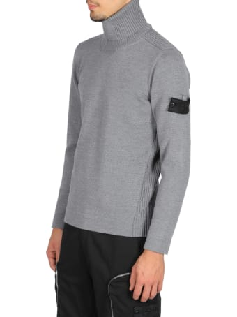 Stone Island Shadow Project Ribbed Turtle Neck