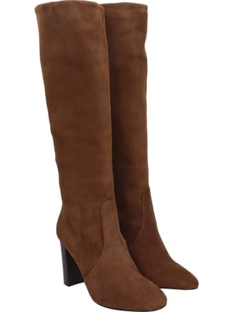 The Seller High Heels Boots In Leather Color Suede