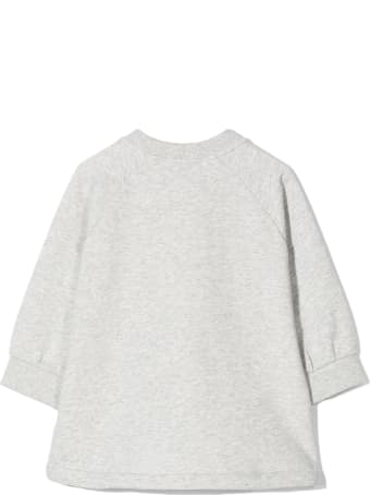 Chloé Grey Cotton Blend Sweatshirt