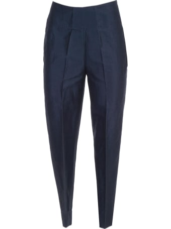 Gentry Creased Cropped Trousers