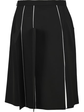 Burberry London Piping Detail Skirt