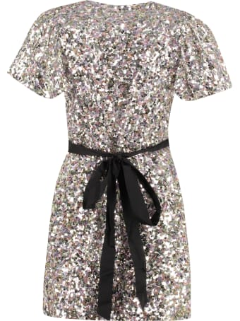 Rotate by Birger Christensen Frida Sequined Mini-dress