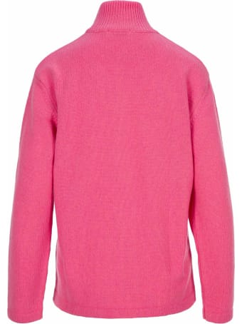 Maison Kitsuné Maison Kitsune Zip Sweater
