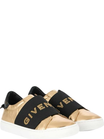 Givenchy Gold Sneakers