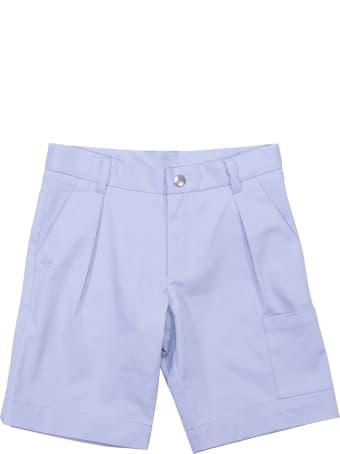 Baby Dior Sky Blue Cotton Gabardine Shorts