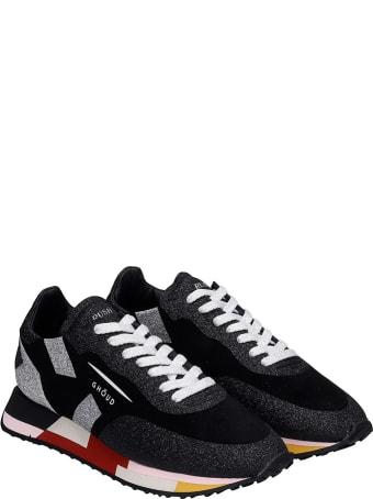 GHOUD Rush  Sneakers In Black Multicolor Synthetic Fibers