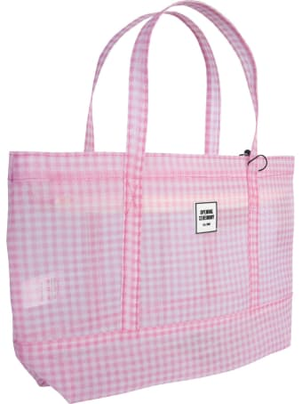 Opening Ceremony Gingham Small Chinatown Tote Bag