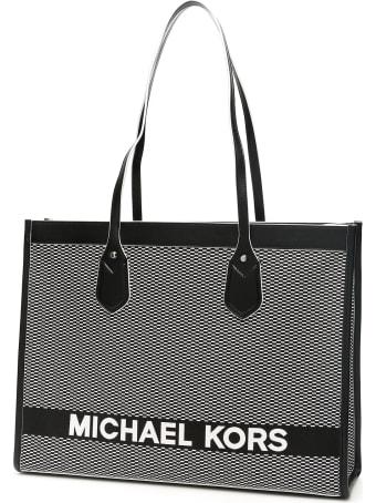 MICHAEL Michael Kors Bay Shopping Bag Jacquard Logo