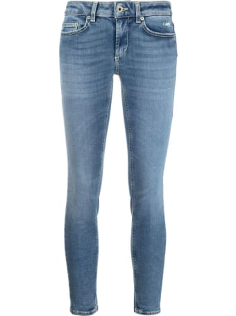 Dondup Blue Organic Cotton-blend Jeans