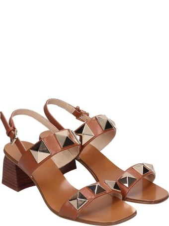 Bibi Lou Sandals In Leather Color Leather