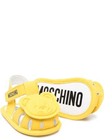 Moschino Sandals With Bear