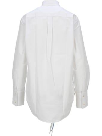 J.W. Anderson Jw Anderson Tuxedo Round Hem Shirt