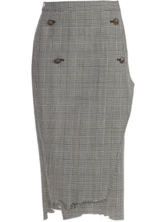 VETEMENTS Four Button Skirt