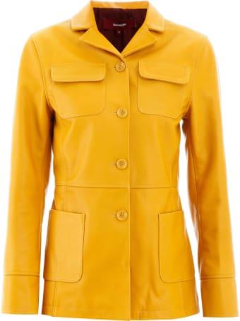 Sies Marjan Raquel Leather Jacket