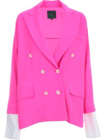Jejia Oversized Jacket Wool Crepe