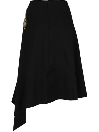 J.W. Anderson Jw Anderson Diamanté Embellished Skirt