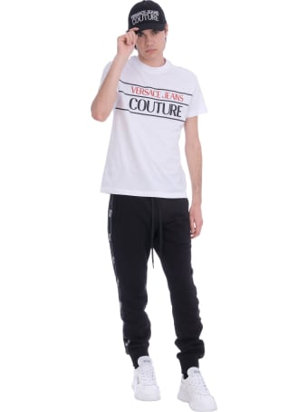 Versace Jeans Couture T-shirt In White Cotton