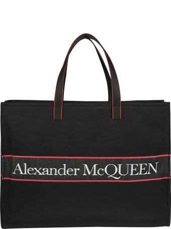 Alexander McQueen Logo Detail Tote