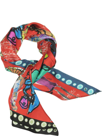 Christian Lacroix Croquis Printed Silk Scarf