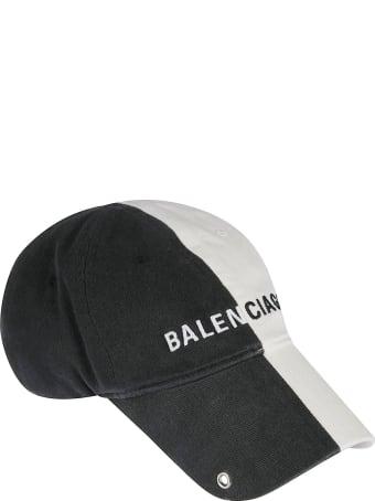Balenciaga Colourblock Logo Cap