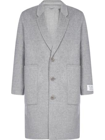Études Archeolgy Wool And Cashmere Coat