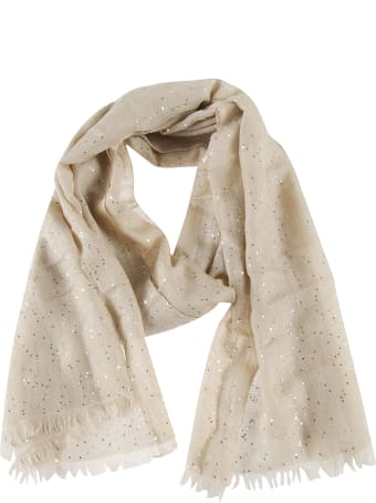 Brunello Cucinelli Sequin Detailed Scarf