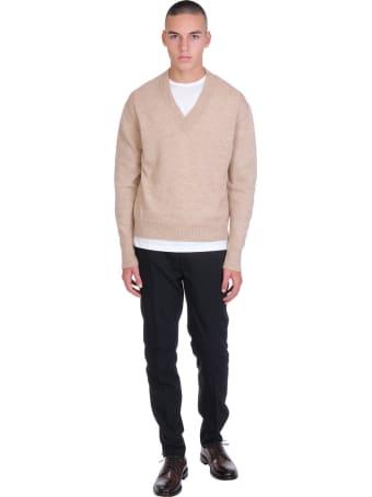 Rochas Knitwear In Beige Cashmere