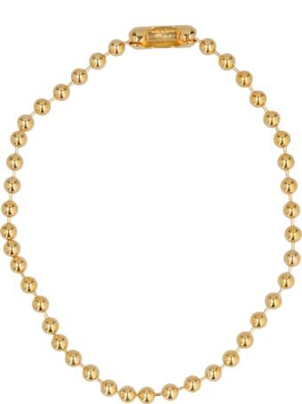 AMBUSH 'ball Chain Short' Necklace