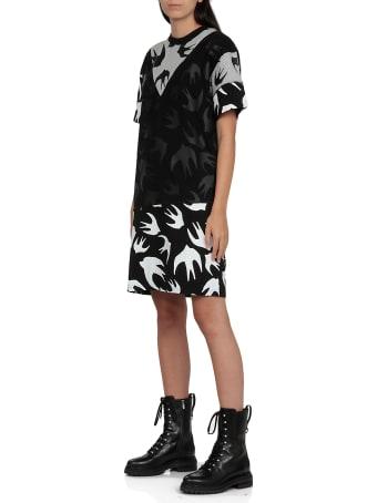 McQ Alexander McQueen Swallow Pannelled Dress