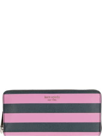 Kate Spade Faux Leather Zip-around Wallet