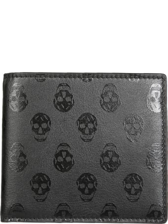 Alexander McQueen Skull Biker Wallet