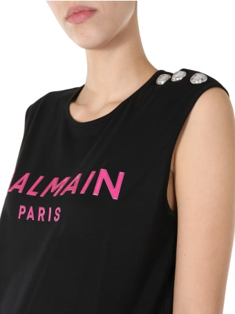 Balmain Tank With Logo