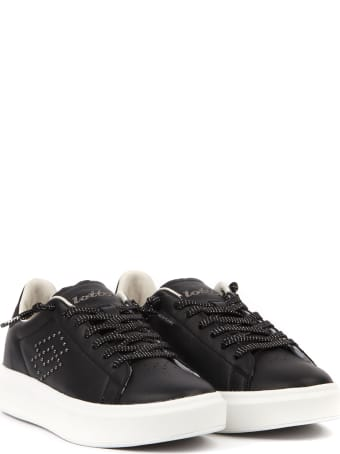 Lotto Leggenda Impressions Lth W Black Leather Sneaker